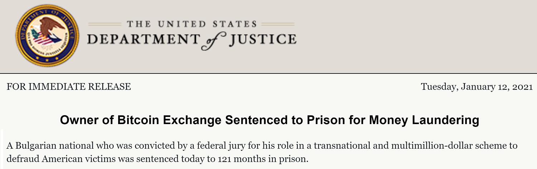 Crypto Exchange Sahibi Amerikalıları Dolandırmaktan Multimilyon Dolarlık Programdan 10 Yıl Hapse Mahkm Edildi