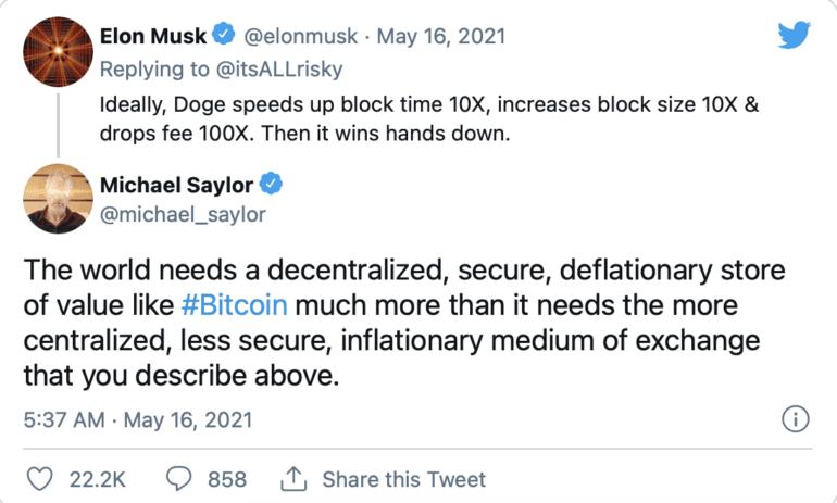 Michael Saylor Elon Musk