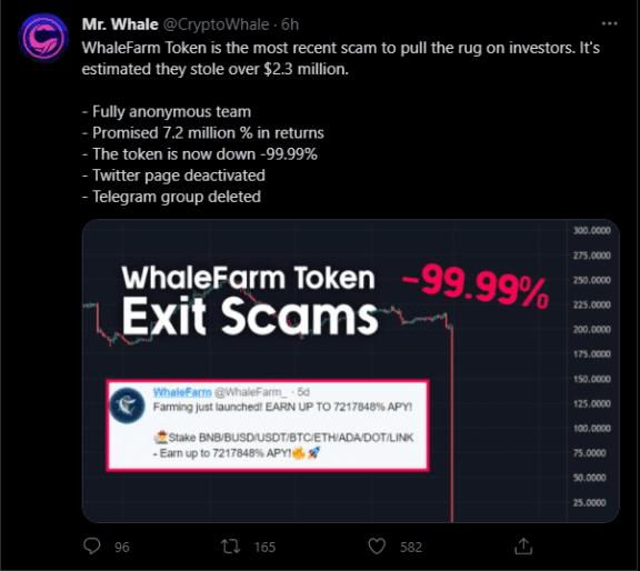 WhaleFarm hakkında Tweet