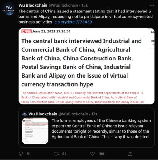 Çin Kripto PAra Yasağı