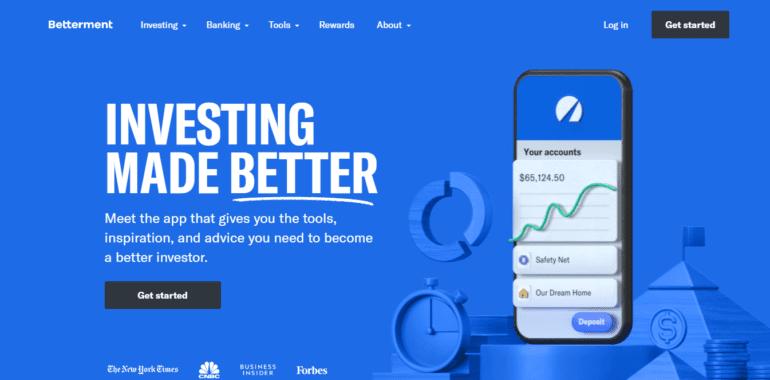Betterment WebSite