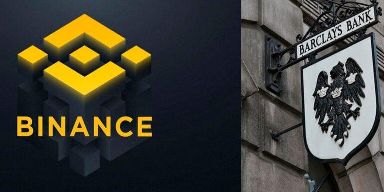 Binance & Barclays