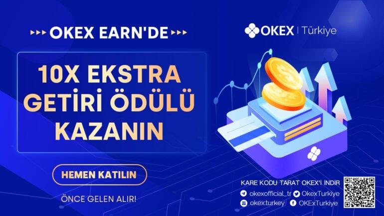 Okex Earn Kampanyası