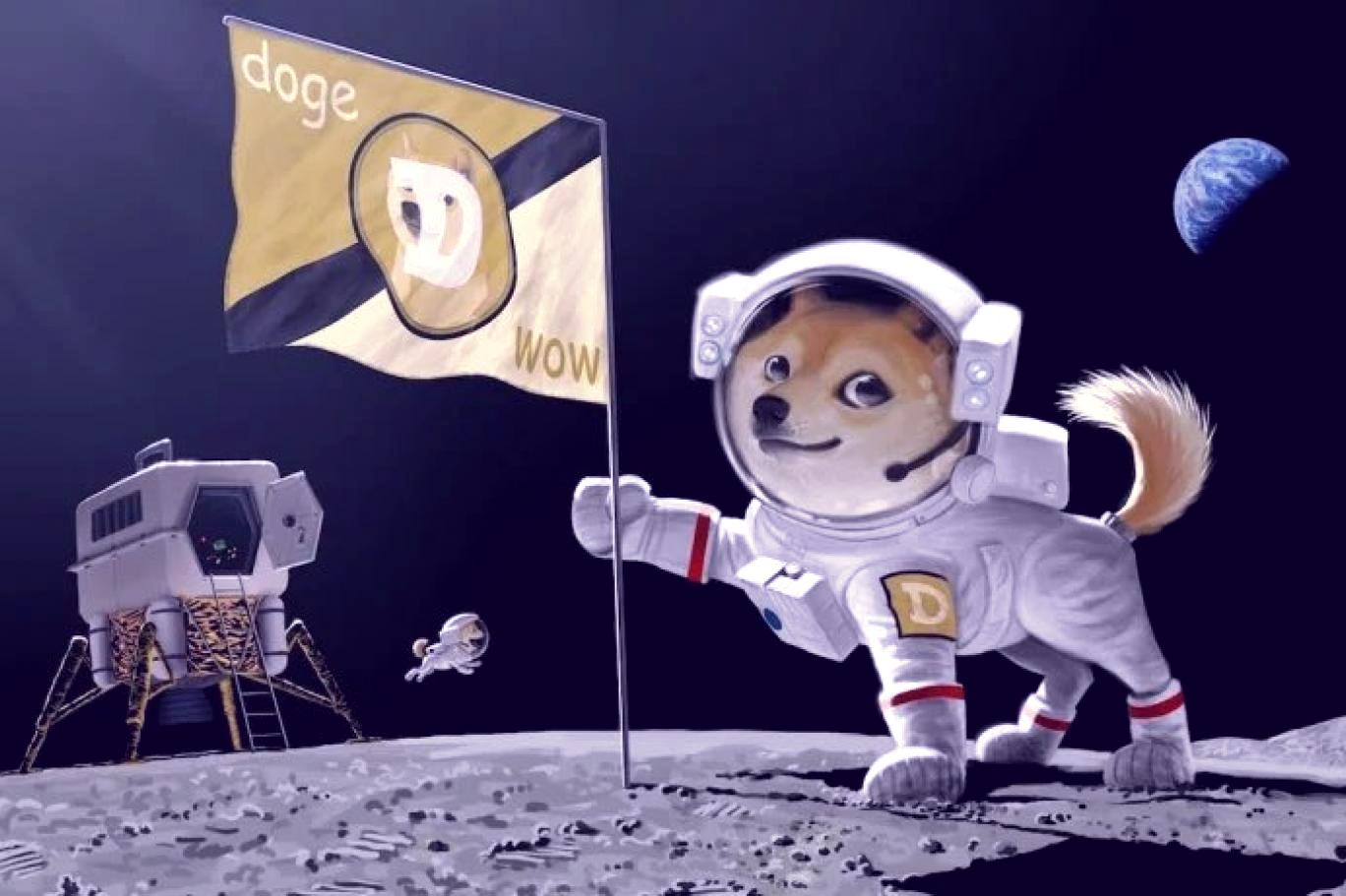 dogecoin-freshblue
