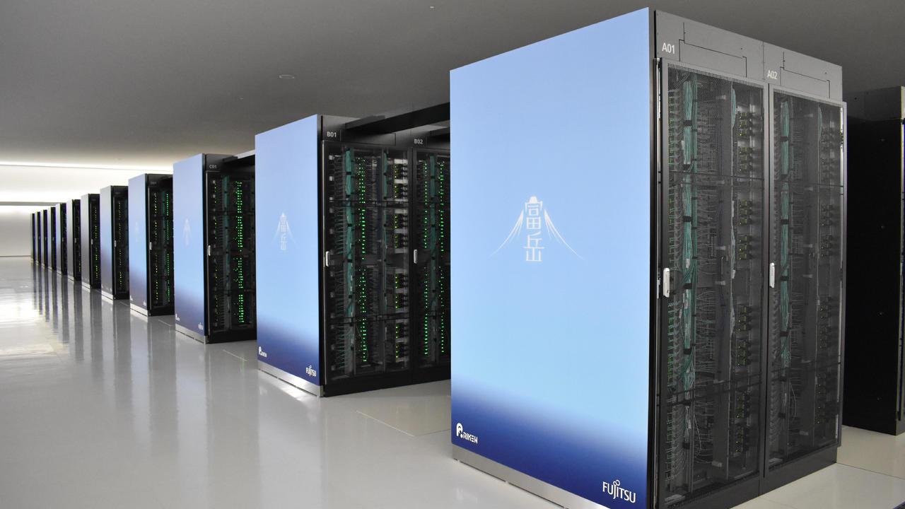 Japon Süper Bilgisayarı Fugaku