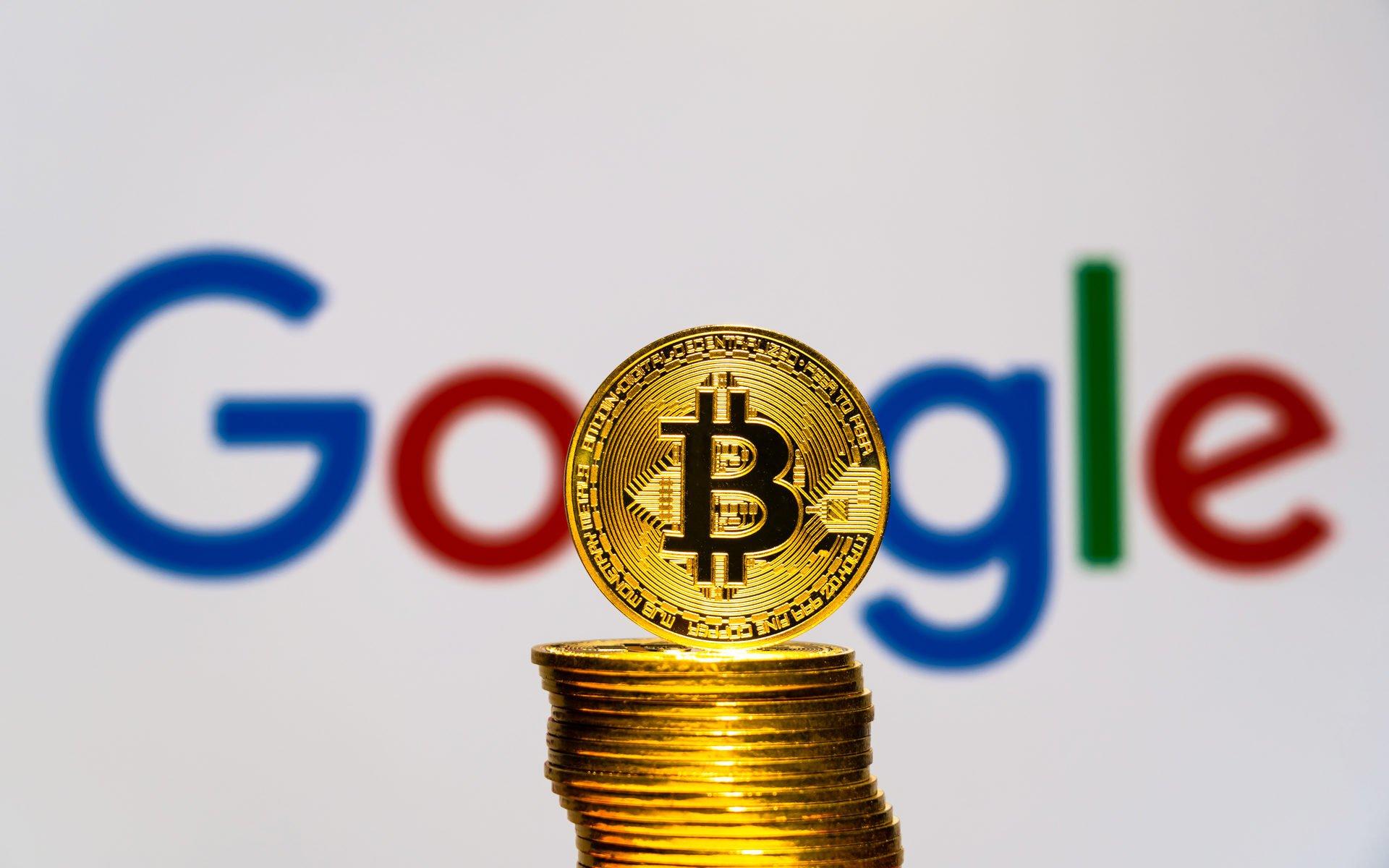 google ve bitcoin